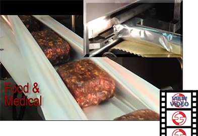 Mincemeat Packaging with Inverted Wash-down Flow Wrapper video